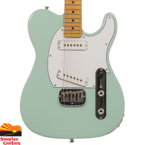 G&L Tribute Series ASAT Special with Maple Fretboard Surf Green