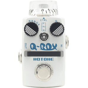 new Hotone Skyline Q-Box Envelope Filter with true bypass guitar effect pedal for sale