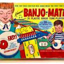 Kenner automatic banjo playing machine toy in original box Banjo-Matic 1968 White