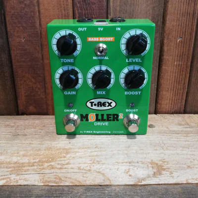 T-Rex Engineering Moller 2 Overdrive Clean Boost Guitar Effects Pedal Stompbox