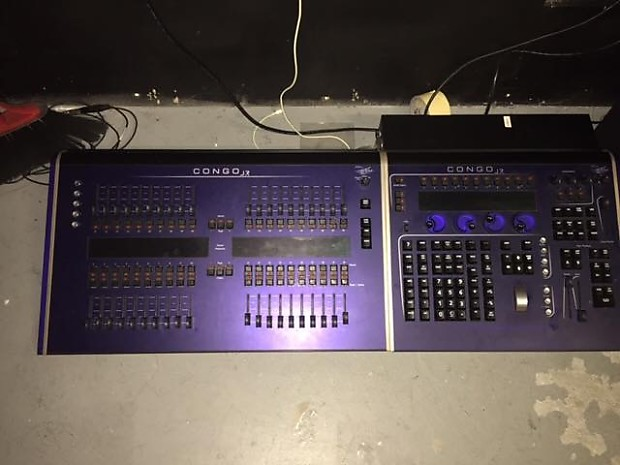 ETC Congo Jr w/ Fader wing stage lighting console | Reverb