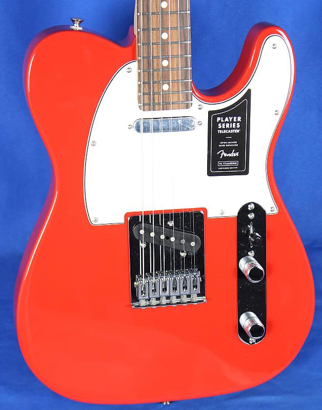 fender player telecaster tele sonic red electric guitar reverb. Black Bedroom Furniture Sets. Home Design Ideas