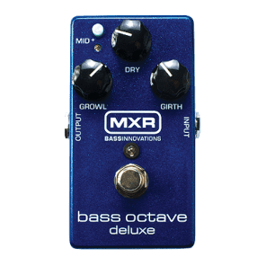 MXR Bass Octave Deluxe Pedal for sale
