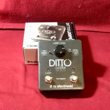 TC Electronic Ditto X2 Looper - Excellent 2010s Black