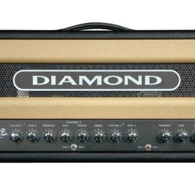 Diamond Spitfire II Head / Showroom Black/Creme for sale
