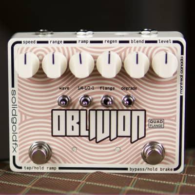 SolidGoldFX Oblivion Quad Flanger Autumn Cream
