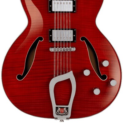 Hagstrom Hagstrom Viking Deluxe 12-String Wild Cherry Transparent for sale