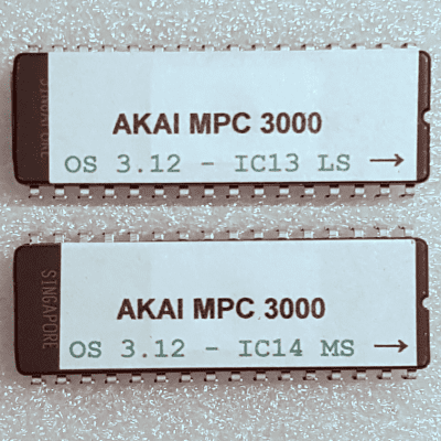 Akai MPC3000 OS 3.12 EPROM Firmware Upgrade KIT