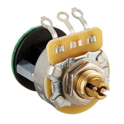 Fender 006-1257-049 500K Linear Taper Knurled Split Shaft S-1 Switch / Potentiometer