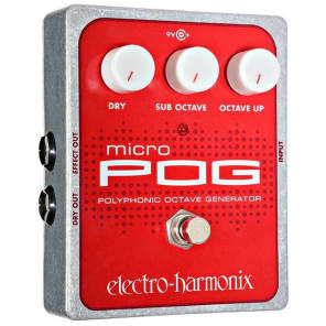 Electro Harmonix Micro Pog Polyphonic Octave Generator Pedal for sale