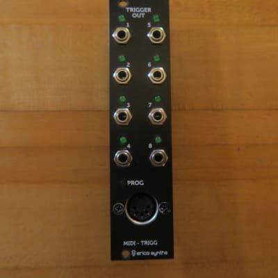 erica synths midi to trigger eurorack module on modulargrid. Black Bedroom Furniture Sets. Home Design Ideas