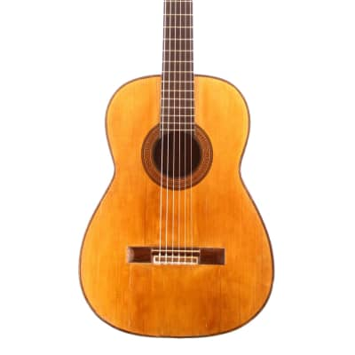Enrique Sanfeliu 1920 - a rare and very beautiful classical guitar in the style of Enrique Garcia for sale