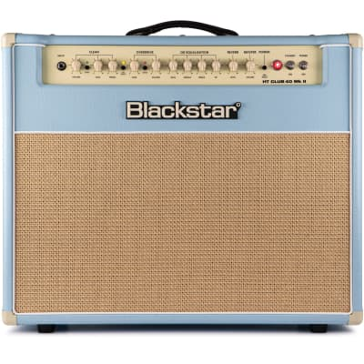 "Blackstar HT Club 40 MKII ""Black & Blue"" 40-Watt 1x12"" Tube Guitar Combo"