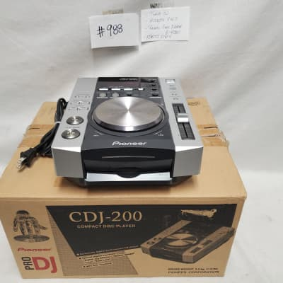 Pioneer DJ CDJ-200 CD/MP3 Player #988 Used Condition, Needs Repair, For Parts,  Final Sale - As Is