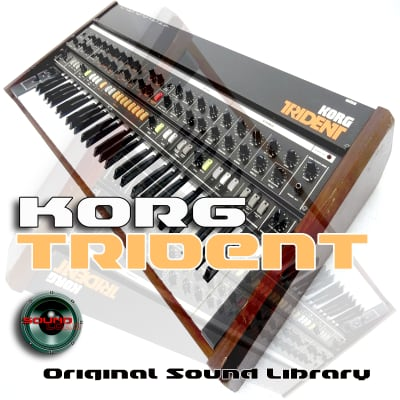 from KORG Trident - the very Best of - Large unique WAVE/Kontakt Studio samples/loops Library