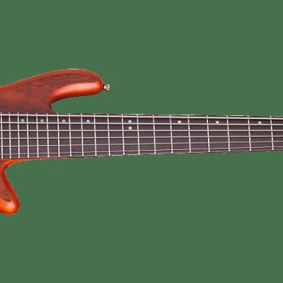 Schecter Stiletto Studio-8 Active 8-String Bass Honey Satin