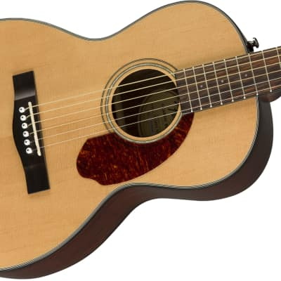 Fender CP-140SE Natural Acoustic Parlor Size Guitar with Hardshell Case for sale