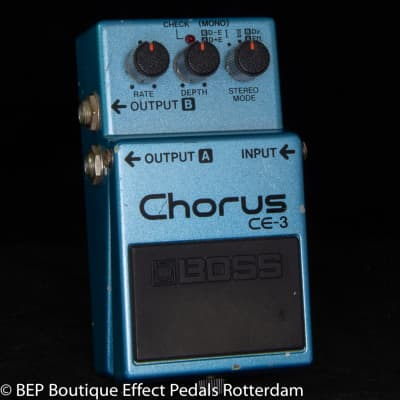 Boss CE-3 Chorus Ensemble 1984 s/n 481400 Japan as used by David Gilmour