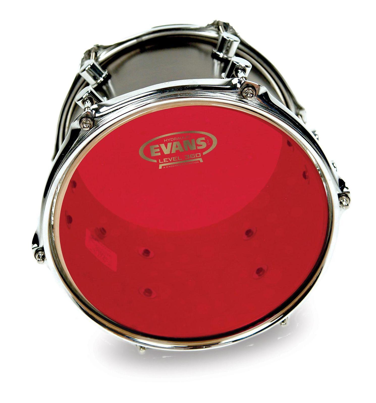 evans bd22hr hydraulic red bass drum head 22 reverb. Black Bedroom Furniture Sets. Home Design Ideas
