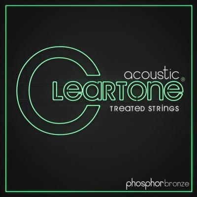 Cleartone Acoustic Guitar Strings, Phosphor Bronze, Custom Light 11-52