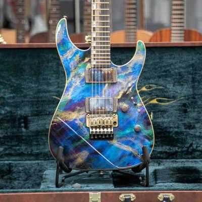 ESP M-II CTM Natural Blue Pearl Black Exhibition 2021 EX21-09 2021 for sale