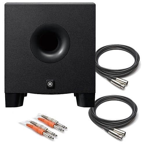 yamaha hs8s 8 powered studio monitor subwoofer audio reverb. Black Bedroom Furniture Sets. Home Design Ideas