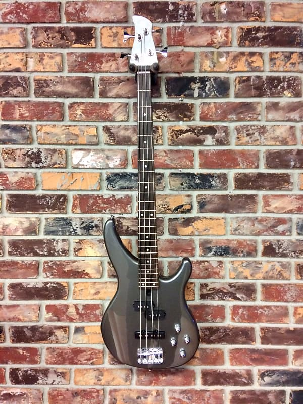 yamaha trbx204 4 string electric bass guitar gray metallic reverb. Black Bedroom Furniture Sets. Home Design Ideas