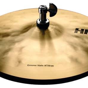 "Sabian 14"" HHX Groove Hi-Hat Cymbals"