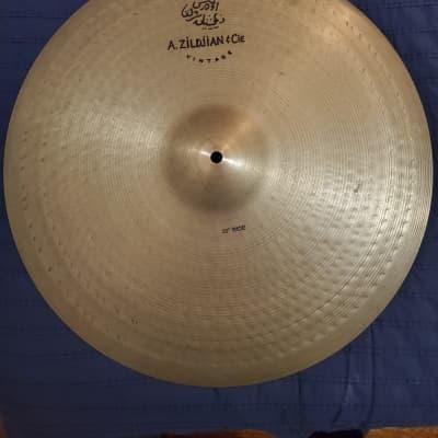 "20"" A. Zildjian & Cie Vintage Ride Cymbal 2001 - 2007"
