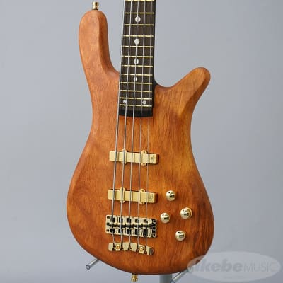 Warwick Custom Shop Basic Streamer Stage II 5st (Natural Oil Finish) Outlet Special Price!! for sale