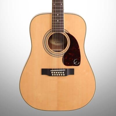 Epiphone DR-212 12-String Acoustic Guitar, Natural