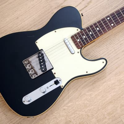 1989 Fender Telecaster Custom '62 Vintage Reissue TL62B Black Japan MIJ Fujigen for sale