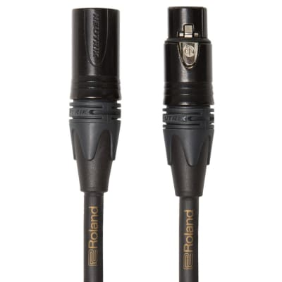 Roland RMC-GQ10 Gold Series 10ft Quad Microphone Cable