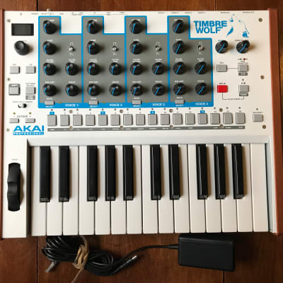 Akai Timbre Wolf 4 Voice Analog Synth