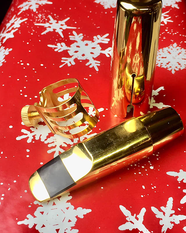unbranded gold metal alto sax saxophone mouthpiece g 7 reverb. Black Bedroom Furniture Sets. Home Design Ideas