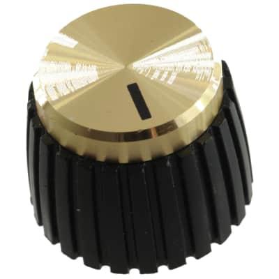 Original Marshall Gold Push-On Knobs, Pkg. 8