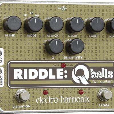 EHX Electro-Harmonix Riddle Qballs Envelope Filter Guitar Effects Pedal