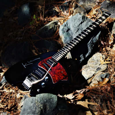 Klein GK 1993 Black Headless Guitar.  Steinberger, Klein, Gibson collaboration.  RARE.  Early Model. for sale