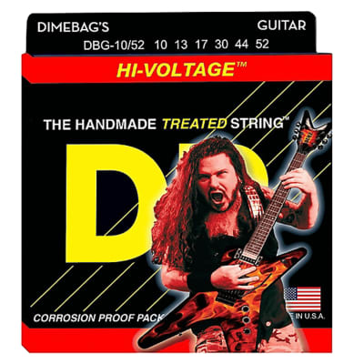 DR Strings DBG-10/52 Dimebag Darrell Electric Hi-Voltage Guitar Strings