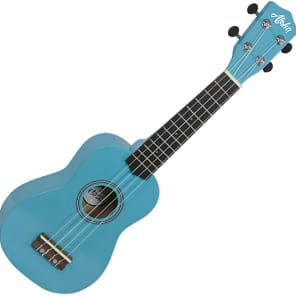 Aloha 200 BL Ukelele soprano color azul clarito for sale