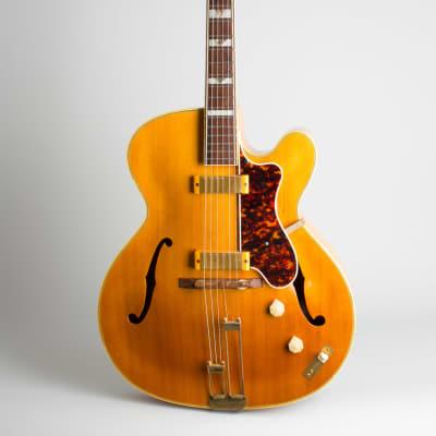 Epiphone  Zephyr Deluxe Regent Hollow Body Electric Guitar (1951), ser. #62752, original brown tolex hard shell case. for sale