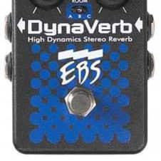 EBS DynaVerb High Dynamics Stereo Reverb Pedal - Display