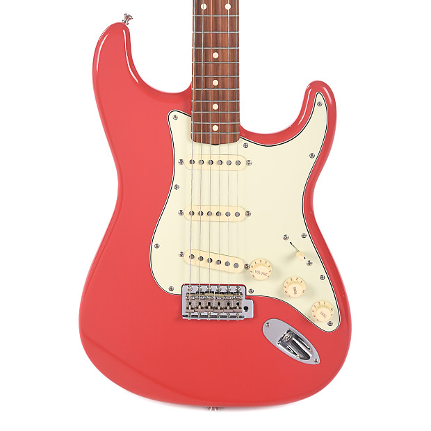 fender classic 39 60s lacquer stratocaster fiesta red reverb. Black Bedroom Furniture Sets. Home Design Ideas
