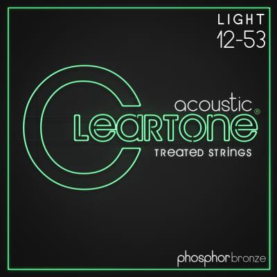 Cleartone Strings 7412 Acoustic Phosphor Bronze Gauges:  (12-16-25-33-43-53)