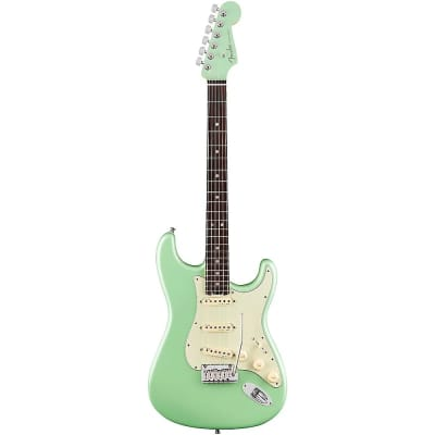 Fender Limited American Elite Stratocaster with Rosewood Fretboard Surf Pearl with Matching Headstock