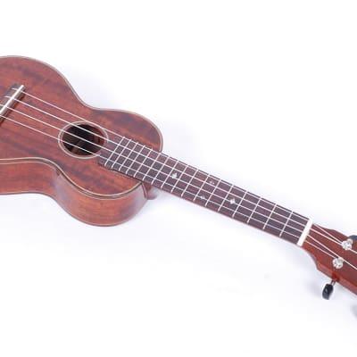 Eastman EU3S Figured Mahogany Soprano Ukulele Uke With Case #35203 @ LA Guitar Sales. for sale