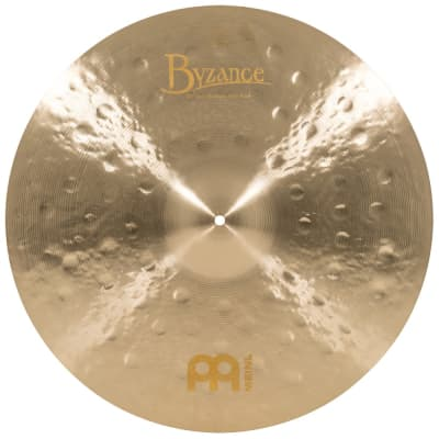 Meinl Byzance Jazz Medium Thin Ride Cymbal 22