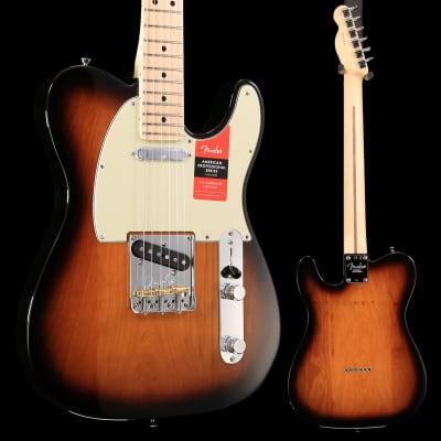 Fender American Pro Telecaster, 2 Color Sunburst US19023561 8lbs 1.8 oz USED for sale