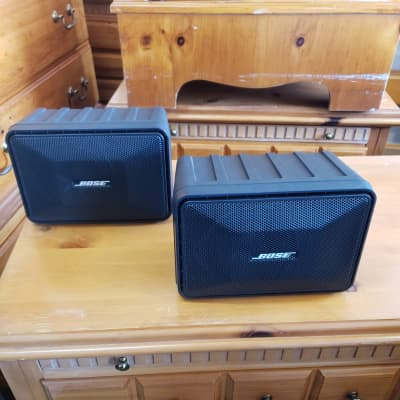 Bose 101 Series II Music Monitor, Indoor/Outdoor, 1997, Black. Rugged, Superb, $159 Shipped!