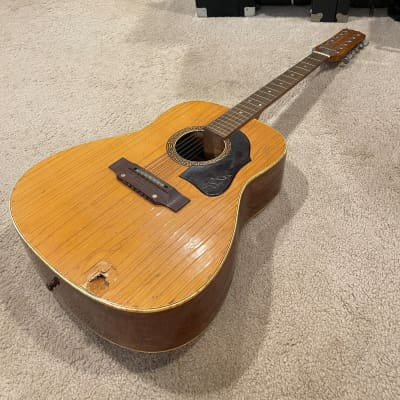 YEAR START SALE// SUPER RARE 1960's Hoyer 12-String Acoustic Made In Germany for sale
